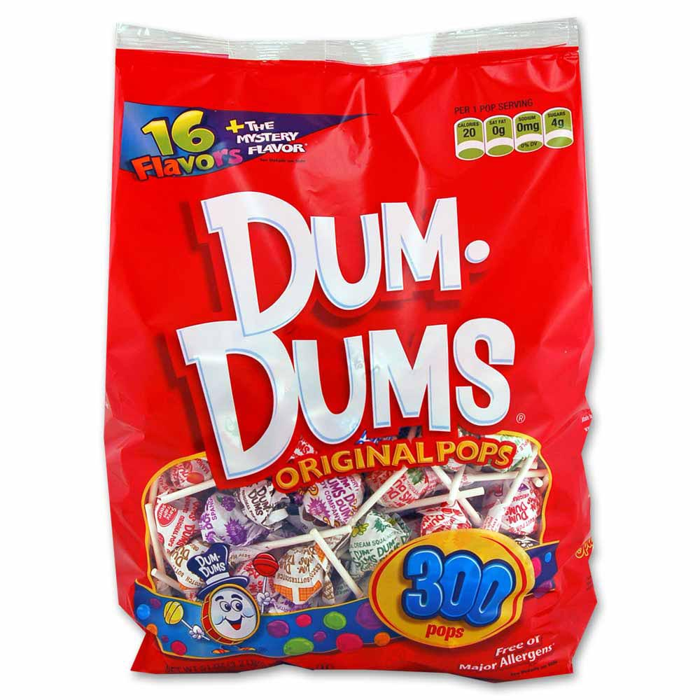Dum Dums 300 ct bag